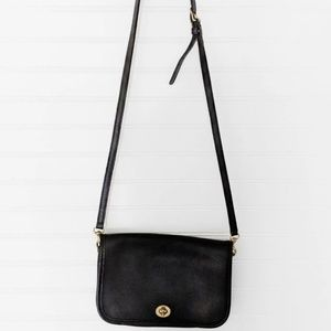 COACH Vintage Black Crossbody Bag